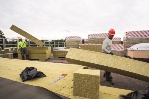 Izolacja dachu płaskiego w systemie dwuwarstwowym