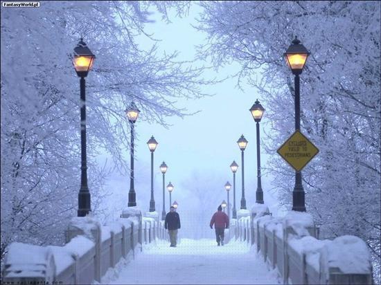 Jak ubrać się podczas zimowego wieczoru?