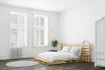 Łóżko z palet – skandynawskie piękno drewna