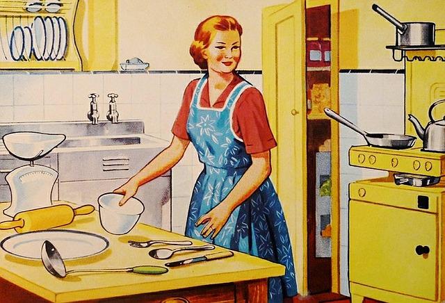 Polki biorą na siebie większość obowiązków domowych